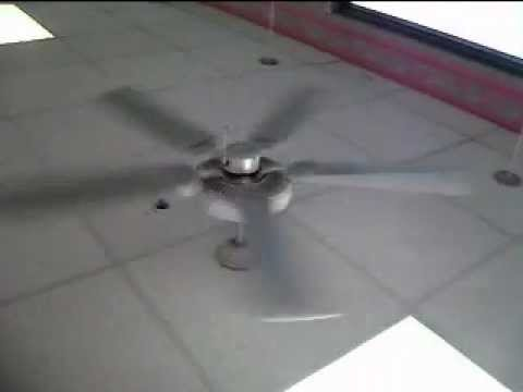 Craftmade Ceiling Fans In Normal, Fast, Slow And Upside Down Versions