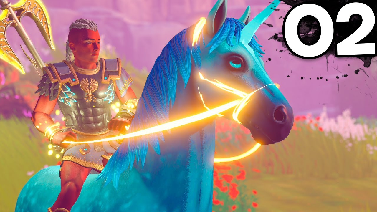 Download Immortals Fenyx Rising -  Part 2 - TAMING MY FIRST MYTHICAL HORSE (PS5)