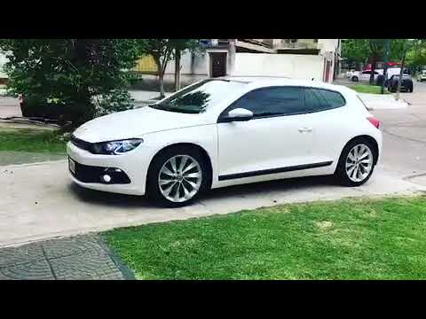 VW SCIROCCO MODIFICACION DE OPTICAS GTS STYLE TIRAS DE LED CREELED BIXENON