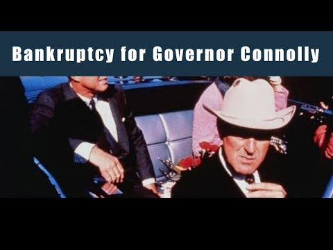 Bankruptcy for Governor Connolly