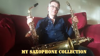 My Saxophone Collection