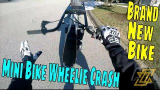 New 212cc Mini Bike, I Crashed It #thatszackforya