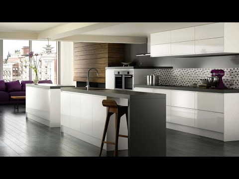 High Gloss White Modern Kitchen Cabinets - Brands, Options & Pricing For High Gloss WhiteCabinets