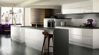 Video High Gloss White Modern Kitchen Cabinets - Brands, Options & Pricing For High Gloss White  Cabinets download MP3, 3GP, MP4, WEBM, AVI, FLV Agustus 2018