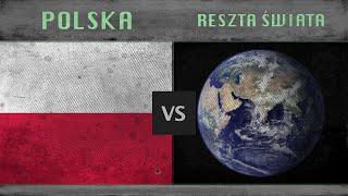 POLSKA vs RESZTA ŚWIATA - Porównanie potencjałów wojskowych