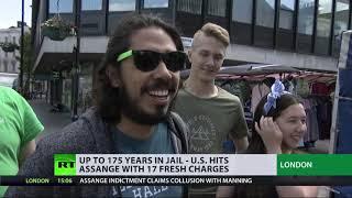 """War on journalism"" - Media groups slam new charges against Julian Assange"