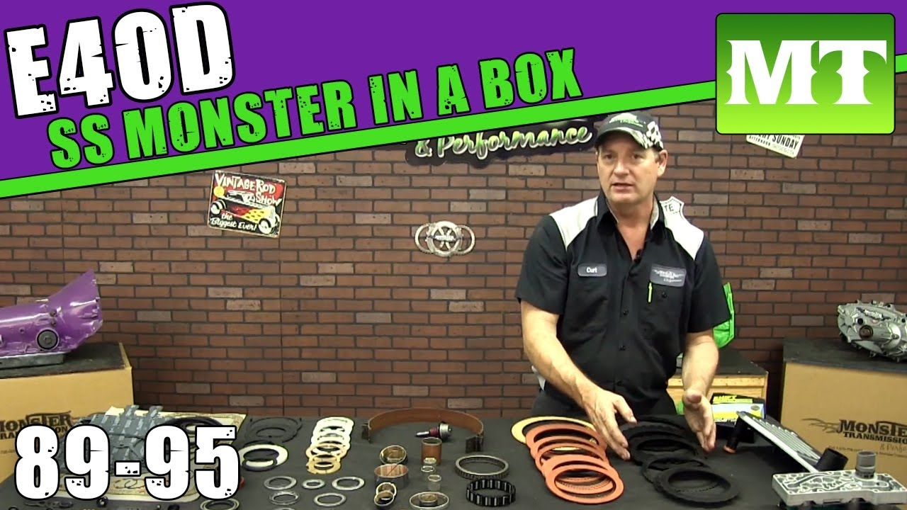 Monster transmission rebuild kit-1105