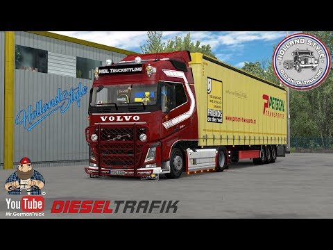 [ETS2 V1.34] Tuning Addon For Volvo FH16 By Sogard3 & Skejcikk + ALL DLC´s Ready