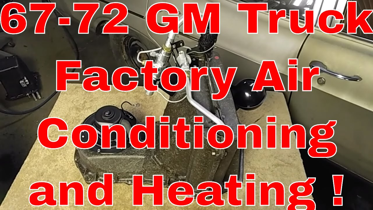 67 72 Chevy Truck Parts >> 67 72 C10 Factory Ac And Heater Restoration Parts