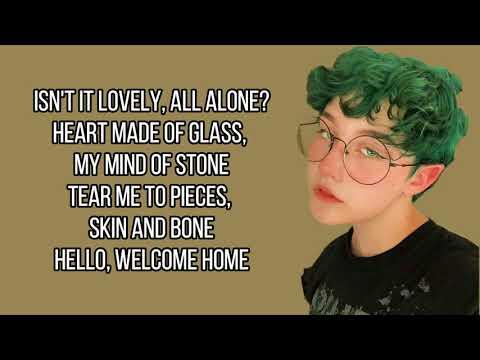 Billie Eilish - Lovely Ft. Khalid (Chloe Moriondo cover) [Full HD] lyrics