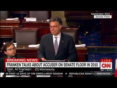 2010 Footage: Franken Mentions Leeann Tweeden On Senate Floor