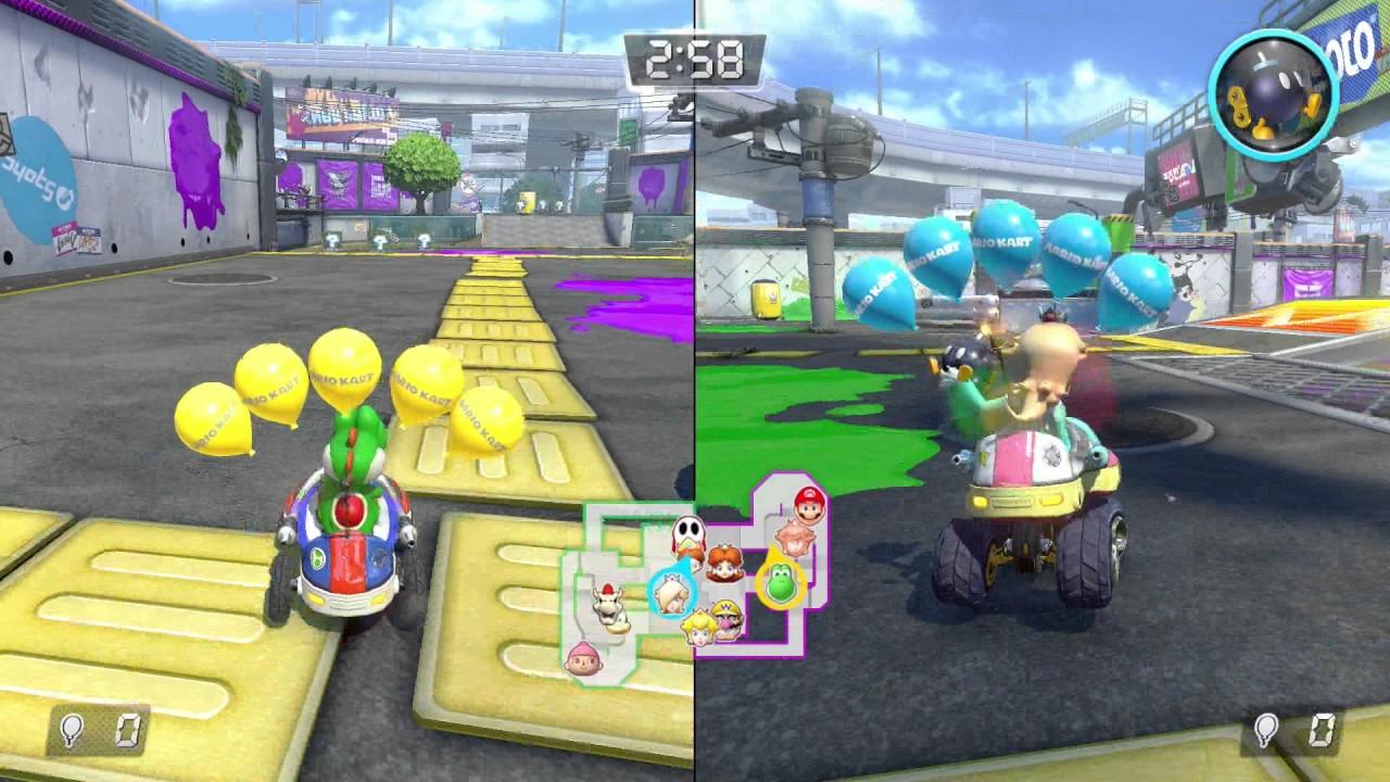 Mario Kart 8 Deluxe gameplay: Racing, Battle mode and ...