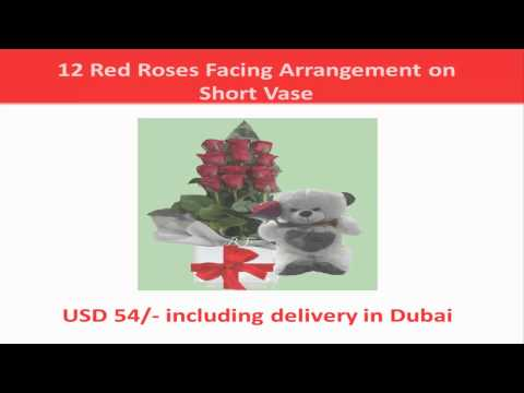 12 Red Roses Gift Options in Dubai