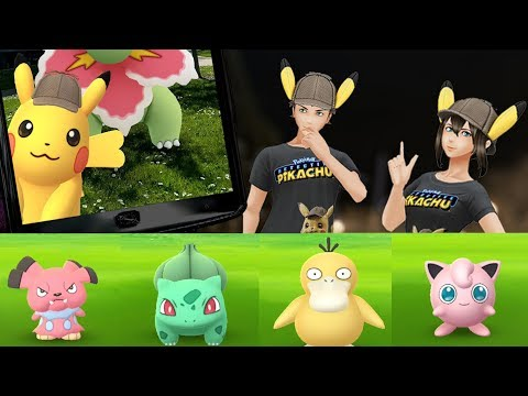 Celebrate the launch of POKÉMON Detective Pikachu with Pokémon GO!