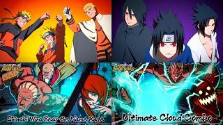 Naruto, Sasuke, The Five Kage & Hidden Cloud Tribe Specials | Naruto X Boruto Ninja Tribes 2021