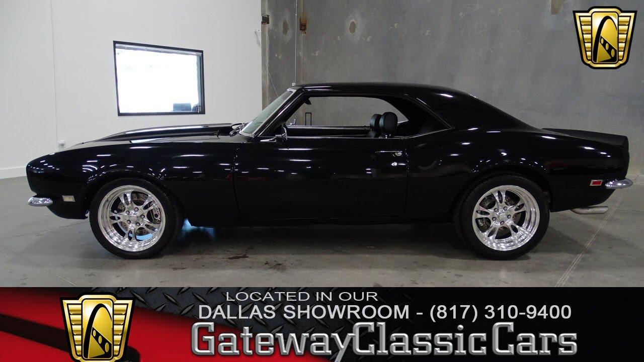 Stock 242 1968 Camaro Gateway Classic Cars Of Dallas