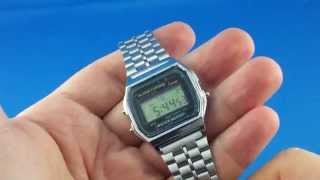 ✅ 2$ Vintage digital watch from AliExpress Unboxing haul euro app