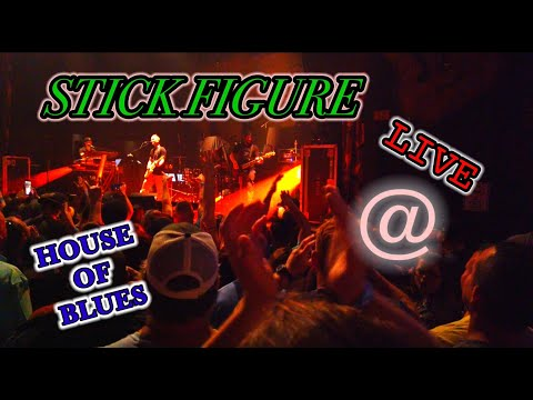 STICKFIGURE IN CONCERT AT THE HOUSE OF BLUES 2019. THESE GUYS ARE AWSOME!