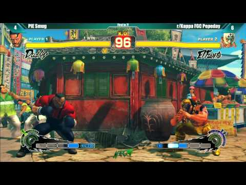 NEC15 - USF4 - Special Exhibition - PIE Smug vs r/Kappa FGC Pepeday