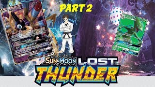 Lost Thunder Booster Box Opening Pokemon - Part 2