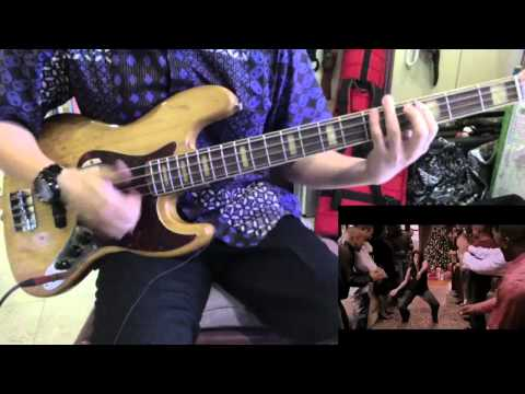 This Christmas Bass Cover With 1968 Fender Jazz Bass