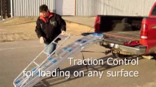 Revarc Sled Snowmobile Loading Ramp For Trucks Or Trailers