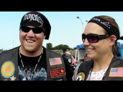 American Legion Riders Join Rolling Thunder Run To The Wall