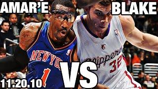 Blake Griffin VS Amar'e Stoudemire CRAZY Dunks! Combine For 83 Points!