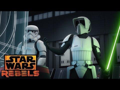 Fulcrum revealed | Star Wars Rebels | Disney XD