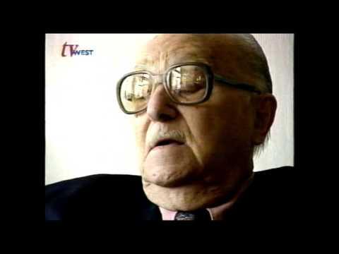 Dolf Brouwers (maar ach u weet wel Sjef van Oekel dus eigenlijk) op TV West 1997