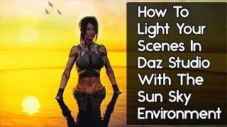 Daz Studio Lighting Tutorial - Environment