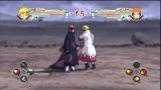 Naruto Ninja Storm Generations - Minato VS Pain