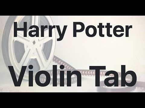 Learn Harry Potter On Violin - How To Play Tutorial