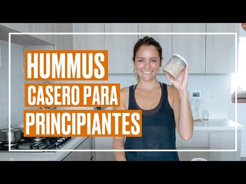 Receta de hummus a prueba de principiantes en la cocina como YO 😜