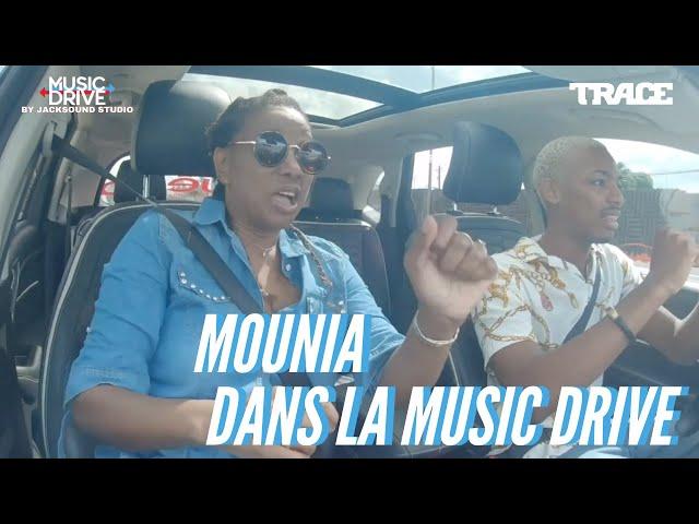 MOUNIA dans la Music Drive
