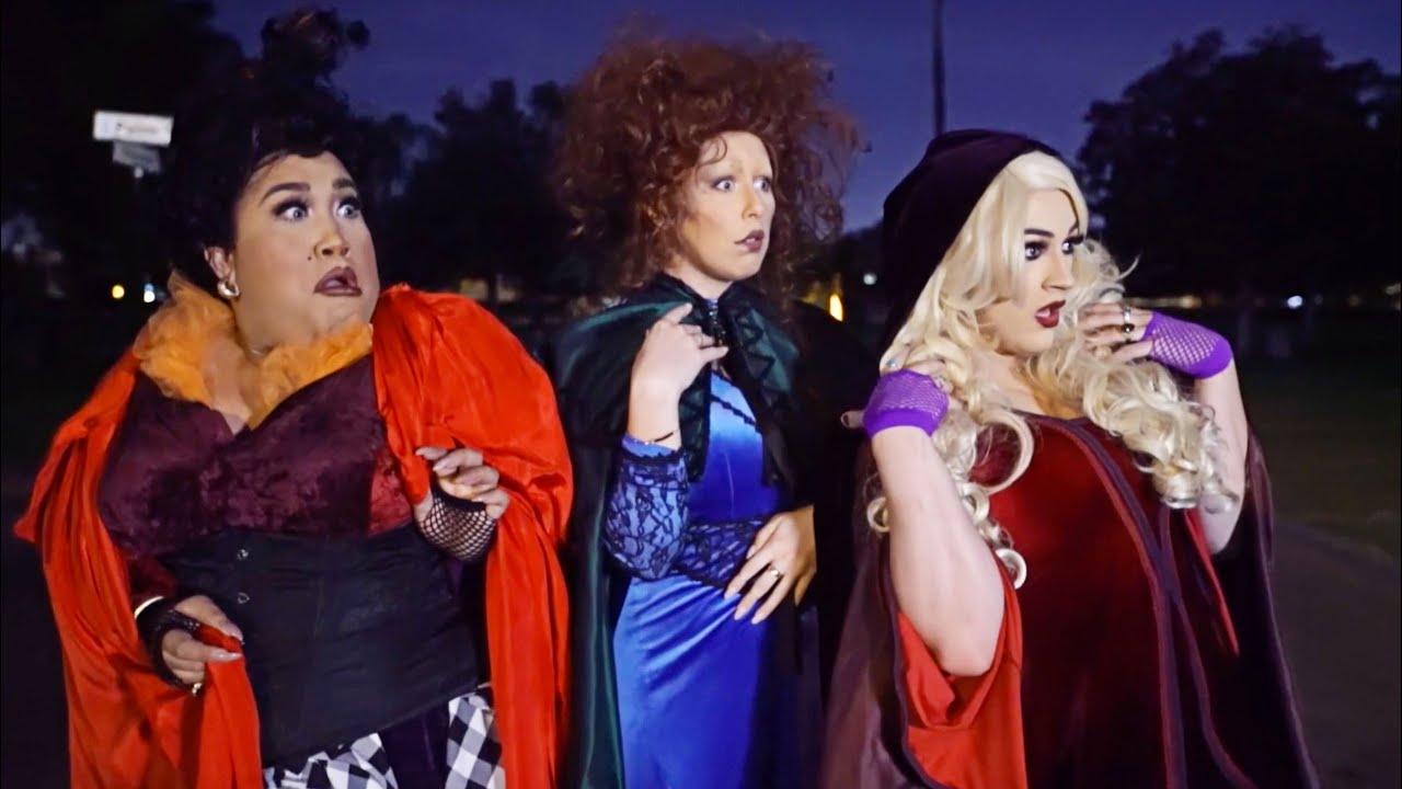 hocus pocus halloween makeup collab patrickstarrr youtube - Chrispy Halloween