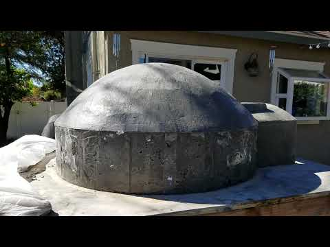 Mike's Pizza Oven Build (rough shell)