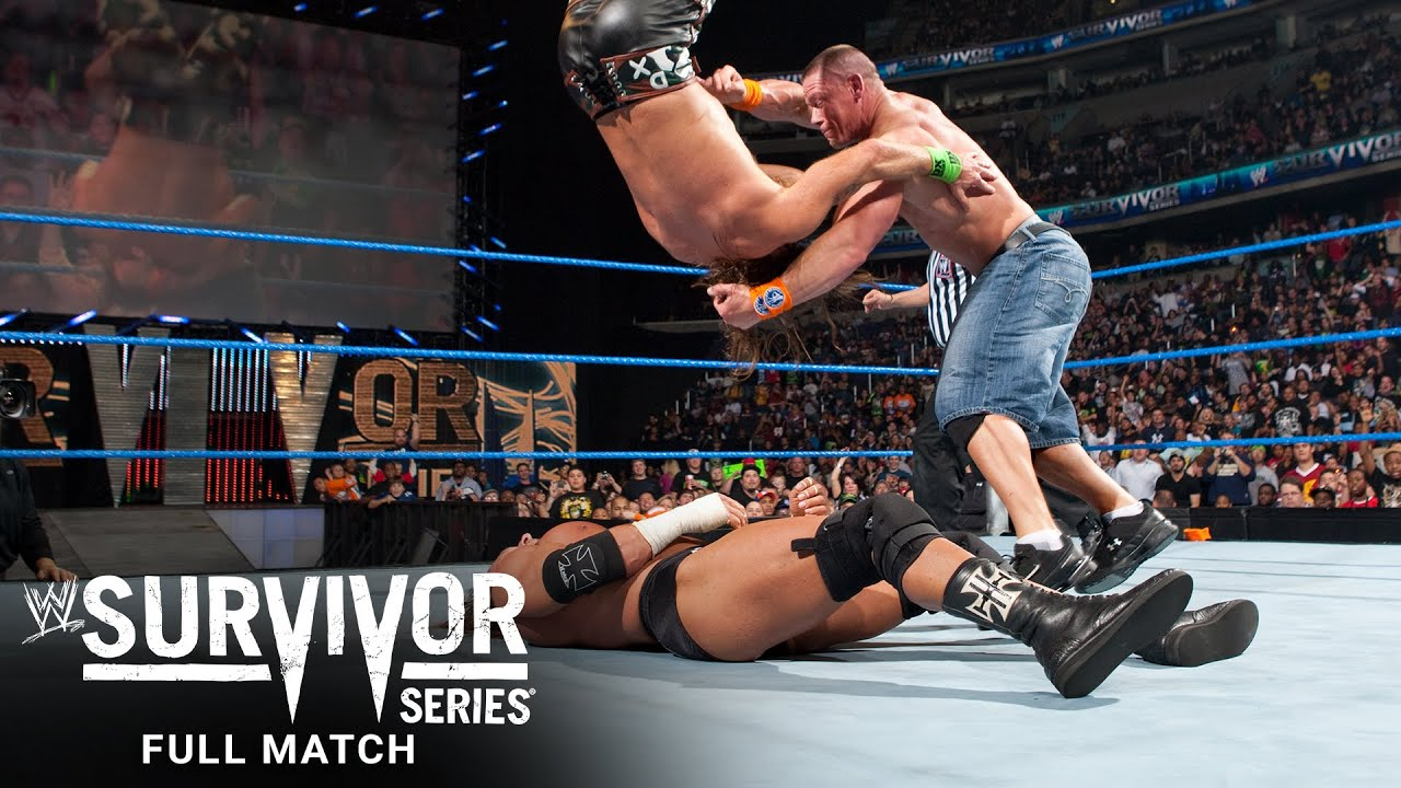 FULL MATCH - John Cena vs. Triple H vs. Shawn Michaels - WWE Title Match: Survivor Series 2009