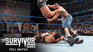 FULL MATCH - John Cena vs. Triple H vs. Shawn Michaels - WWE Title Match: Survivor Series 2009