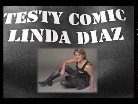 Testy Comic Linda Diaz at Mobsters
