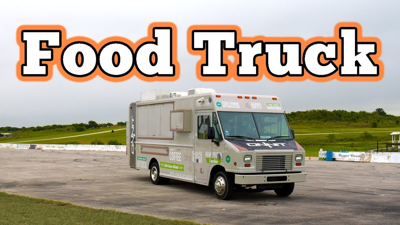 2012 Ford F550 Utilimaster Food Truck Regular Car Reviews Youtube
