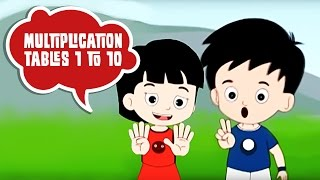 Multiplication Tables (1 to 10) for Kids