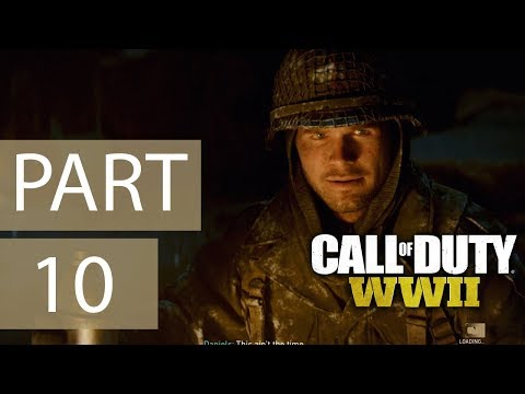 Call of Duty: WWII   Mission - Ambush   PC Gameplay   Part 10