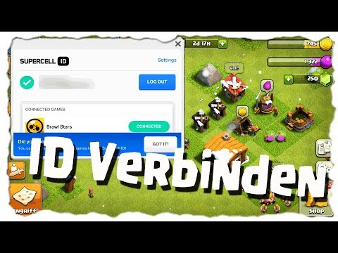 SUPERCELL ID VERBINDEN - TUTORIAL 🤔 | Clash Of Clans Deutsch | Let´s Play COC