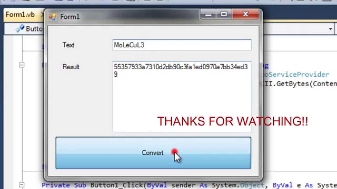 Sha1 encryption converter