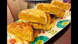 Bánh trung thu nhân đậu xanh (Mung bean filling Mooncake) - - Bếp Nhà Nội
