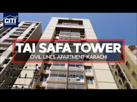 Tai Safa Tower Civil Lines Apartment Karachi Youtube