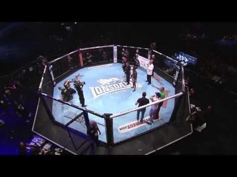 BAMMA 14: Tim Wilde vs Jefferson George