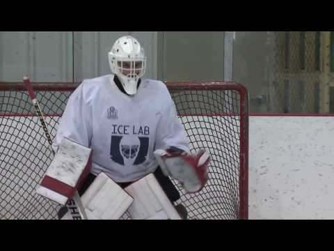 Goaltender Tracking Drill