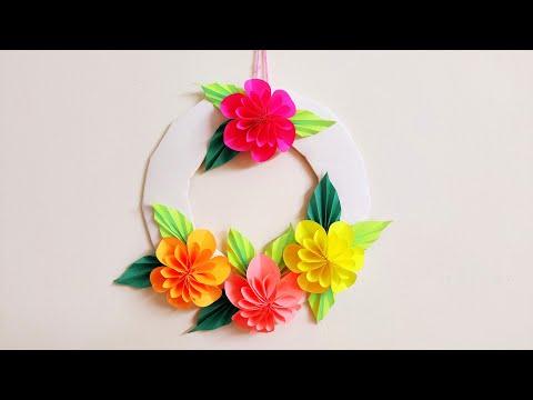 wallmate/paper wallmate/paper wall hangings/wall hanging craft ideas new/কাগজের ওয়ালমেট